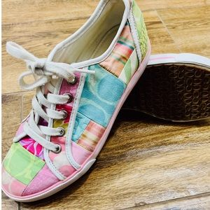 Coach Dawnell Patchwork Multicolored sneakers